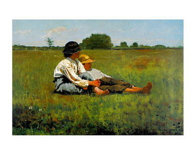 Winslow Homer Boys in a Pasture, 1874