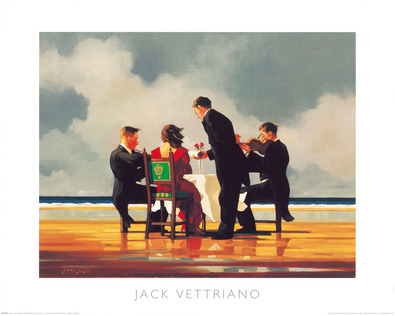 Jack Vettriano Elegy for The Dead Admiral