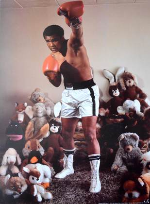 Charles Wilp Greatest of all Time I, 1972 (Mohammed Ali)