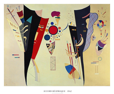 Wassily Kandinsky Accord Reciproque, 1942