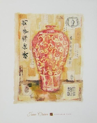 Jane Claire Cinnabar Vase
