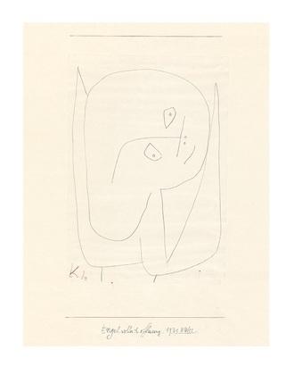 Paul Klee Engel voller Hoffnung, 1939