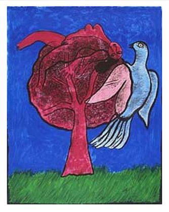 Corneille Arbre rouge
