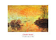 Monet claude le coucher du soleil la seine 38914 medium