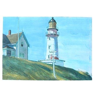 Edward Hopper Leuchtturm von Two Lights
