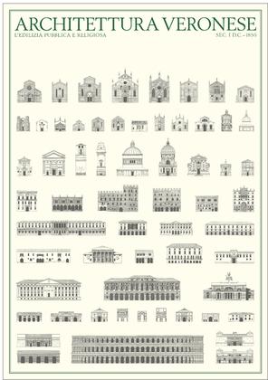 unbekannter Kuenstler Architektur in Verona