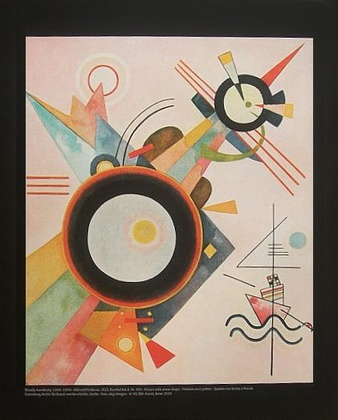Wassily Kandinsky Bild mit Pfeilform