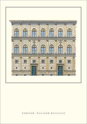 Leon Battista Alberti Florenz, Palazzo Rucellai