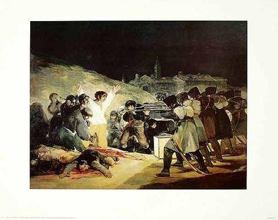 Francisco Goya Erschiessung der Rebellen