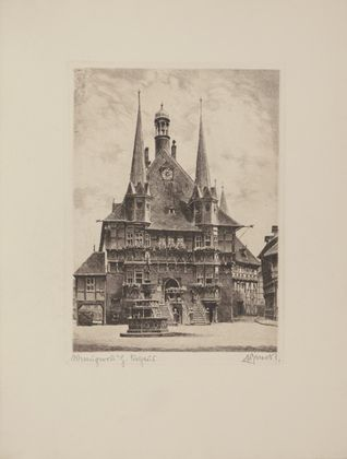 Bruck Wernigerode, Rathaus