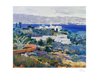Omar Hamdi Malva Griechische Landschaft II