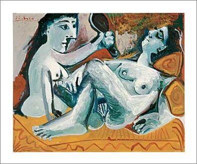 Pablo Picasso Les deux amies