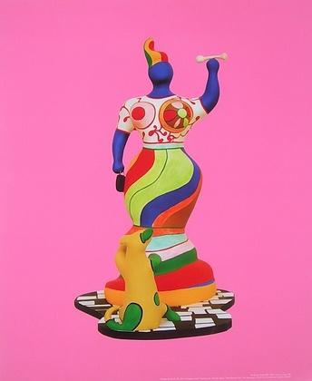 Niki de Saint Phalle Femme au chien