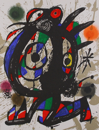 Joan Miro Litografia original I