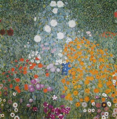 Gustav Klimt Bauerngarten