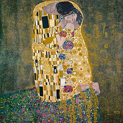 Gustav Klimt Il bacio
