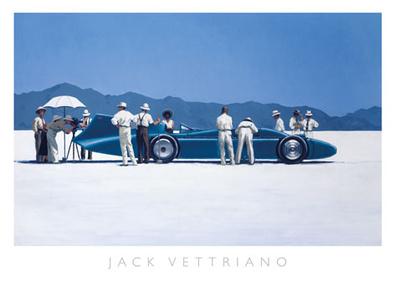 Jack Vettriano Bluebird at Bonneville