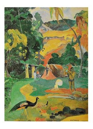 Paul Gauguin Matamoe
