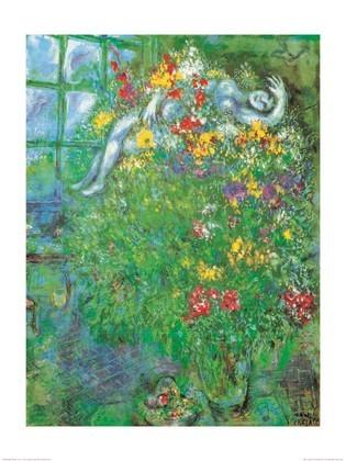 Marc Chagall Der feurige Strauss
