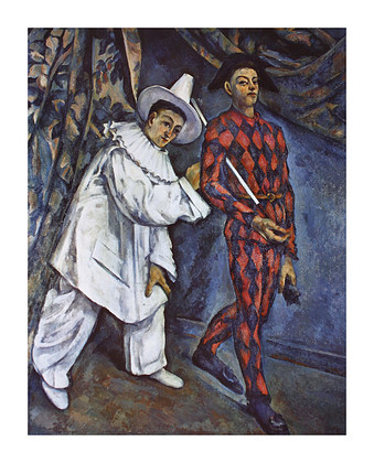 Paul Cezanne Mardi Gras