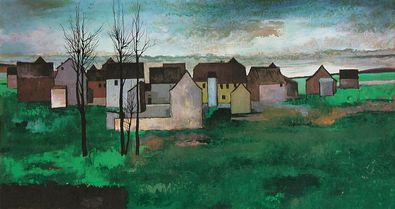 Horst Jaehrling Dorflandschaft