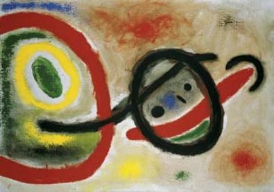 Joan Miro Femme III