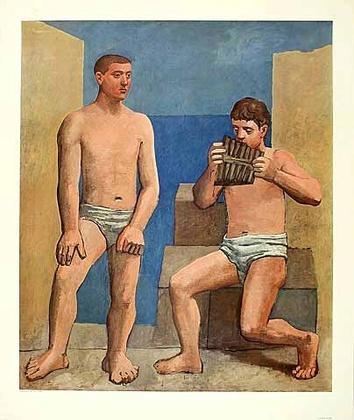 Pablo Picasso Die Panfloete