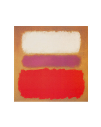 Mark Rothko White Cloud Over Purple 1957