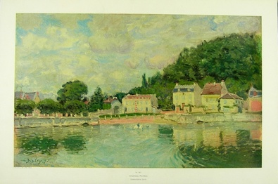 Alfred Sisley Port Marly