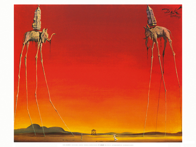 Salvador Dali Die Elefanten