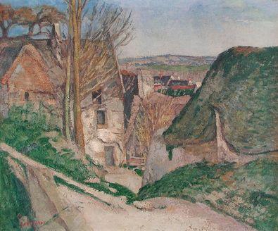 Paul Cezanne Das Haus des Erhenkten