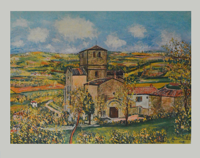 Maurice Utrillo Kirche von St. Mamert