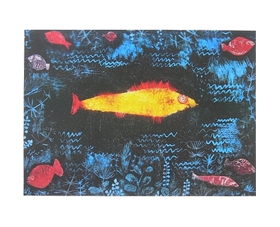 Paul Klee Der goldene Fisch
