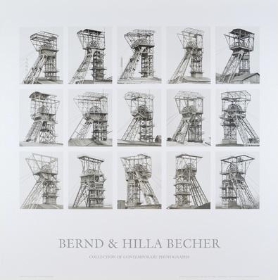 Bernd und Hilla Becher Foerdertuerme