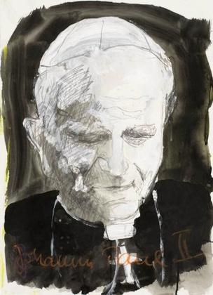 Armin Mueller Stahl Johannes Paul II