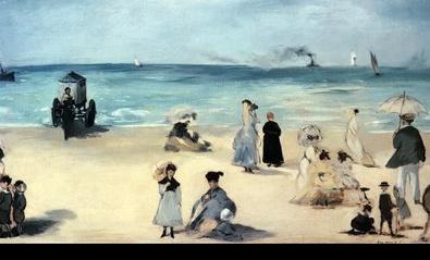 Edouard Manet Strandszene