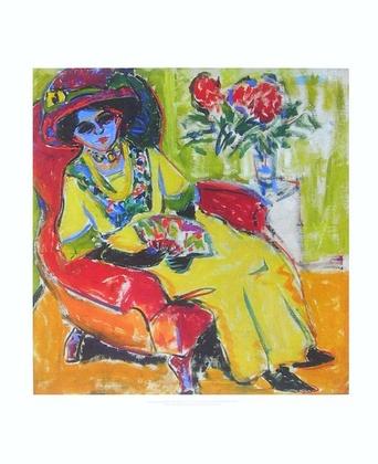 Ernst Ludwig Kirchner Bildnis Dodo