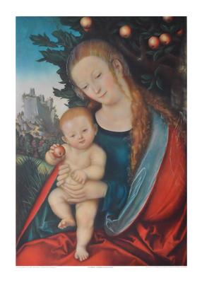 Lucas Cranach Maria unter einem Apfelbaum