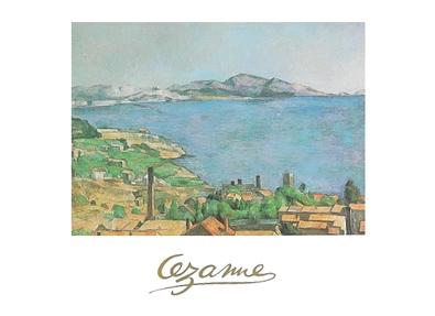 Paul Cezanne Die Bucht in Marseille