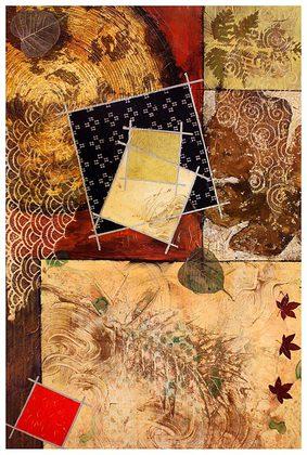 Judge Heather 2er Set 'Gilded Leaf I + II'