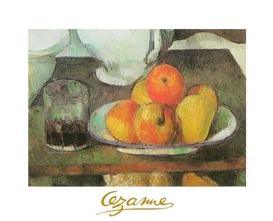 Paul Cezanne Aepfel und Birnen