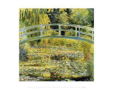 Claude Monet The Water Lily Pond & Bridge, 1899