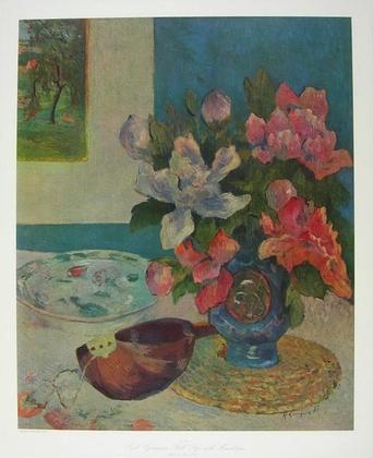 Paul Gauguin Still Life with Mandoline