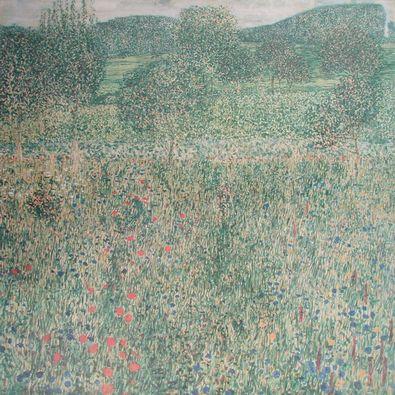 Gustav Klimt Obstgarten