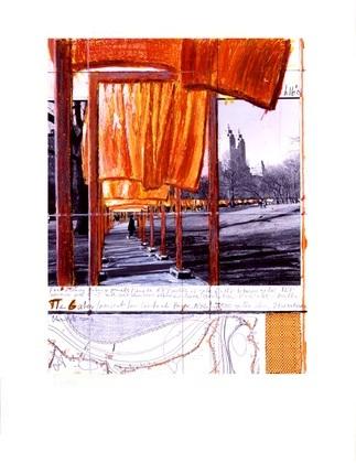 Christo The Gates XXVIII, Maybach