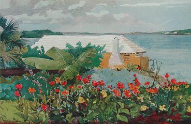 Homer Winslow Bungalow Bermuda