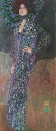 Gustav Klimt Emilie Floege