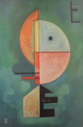 Wassily Kandinsky Aufwaerts