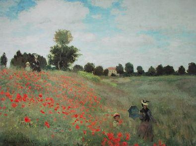 Claude Monet Les Coquelicots   Das Mohnfeld