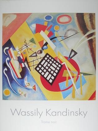 Wassily Kandinsky Trame Noir